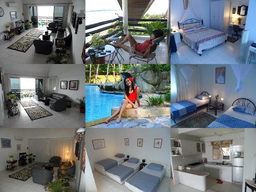 Appartement in Batam voor  8 •   met terras   no 51003