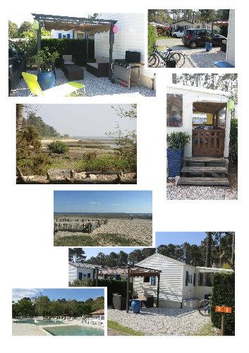 Mobil-home Arès - 6 personnes - location vacances  n°51199