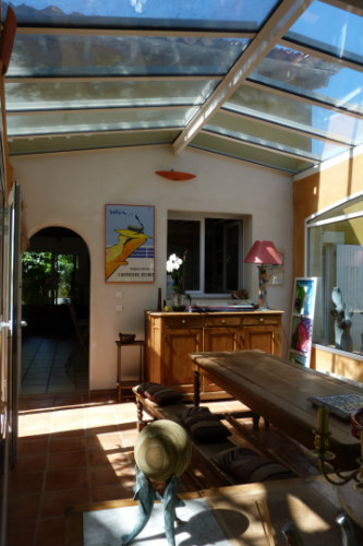 House in Saumane de vaucluse - Vacation, holiday rental ad # 51233 Picture #5
