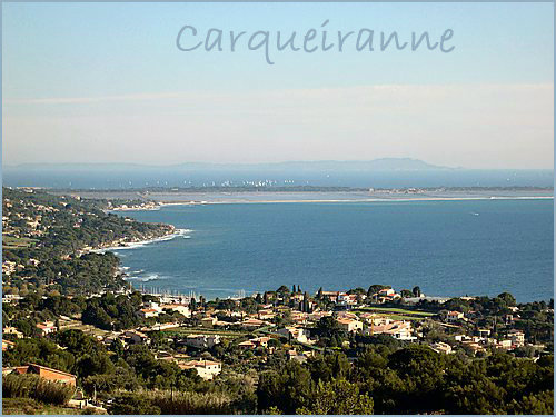 Carqueiranne -    view on sea