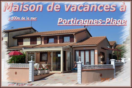 Maison Portiragnes - 6 personnes - location vacances  n°51358