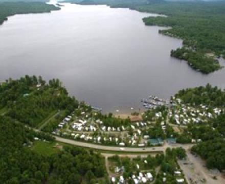 Racine -    vue sur lac