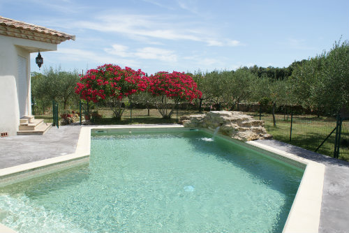 House in Villevieille for   8 •   with private pool   #51821