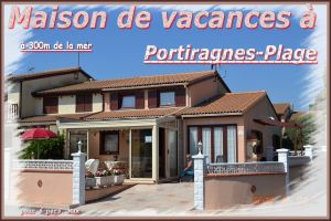 Casa en Portiragnes para  6 •   acceso minusválidos