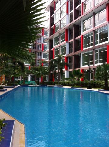 Appartement à Pattaya pour  2 •   jardin