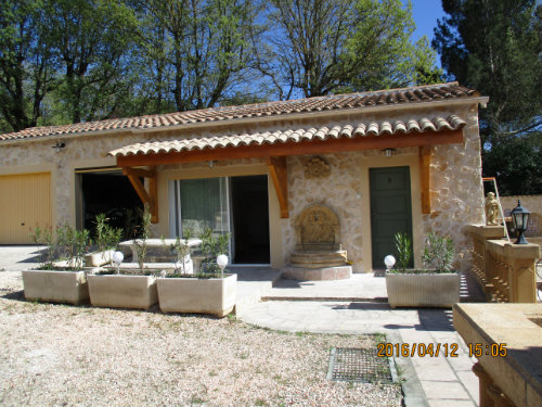Gite Brignoles - 2 people - holiday home  #52146
