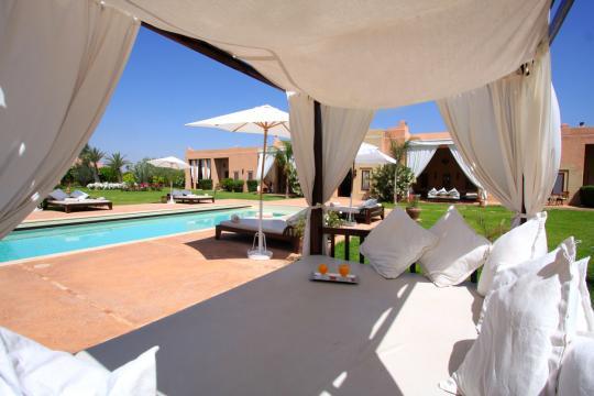 Casa en Marrakech para  12 •   5 estrellas