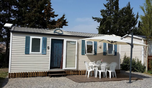 Mobil-home 4 personnes Sigean - location vacances  n°52213