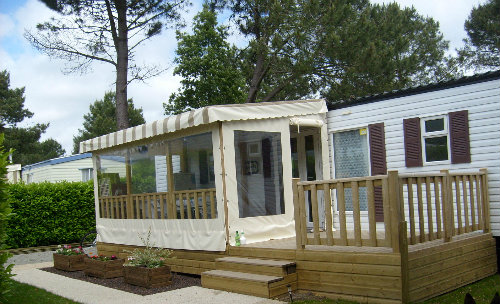 Mobile home Pont Aven - 4 people - holiday home  #52406