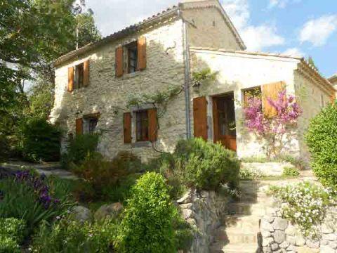 Maison Saint Ambroix - 7 personnes - location vacances  n°52449