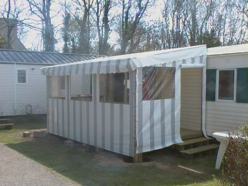 Mobil-home Fouesnant - 6 personnes - location vacances  n°52462