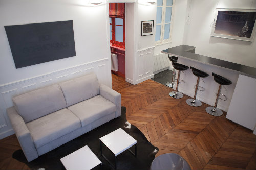 Flat in Paris - Vacation, holiday rental ad # 52472 Picture #1
