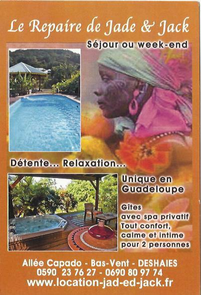 Gite 4 personnes Deshaies - location vacances