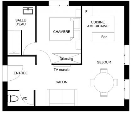 Flat in Saint malo - Vacation, holiday rental ad # 52797 Picture #5