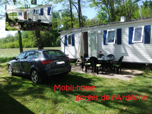Mobil-home 4 personnes Vallon Pont D'arc - location vacances  n°53012