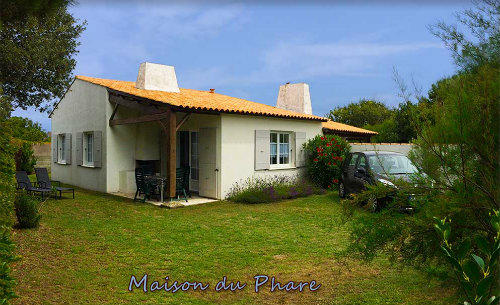 House Saint-clément-des-baleines - 4 people - holiday home  #53167