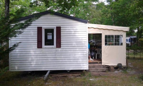 Mobil-home Sanguinet - 4 personnes - location vacances  n°53671