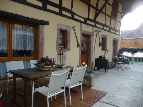 Appartement St Hippolyte - 4 personnes - location vacances  n°53946