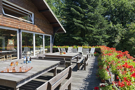 Chalet Harre (manhay) - 26 personnes - location vacances  n°54011