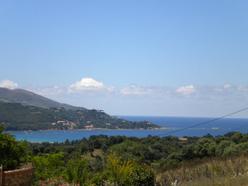 Calcatoggio -    uitzicht op zee