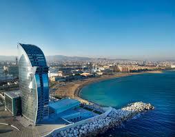 Barcelona -    vista al mar
