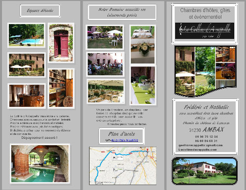 Château Ambax - 26 personnes - location vacances  n°54272