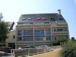 Appartement à Douarnenez pour  4 •   avec balcon   n°54358
