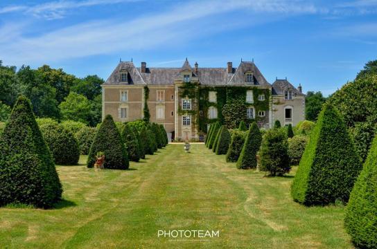 Château Durtal - 20 personnes - location vacances  n°54489