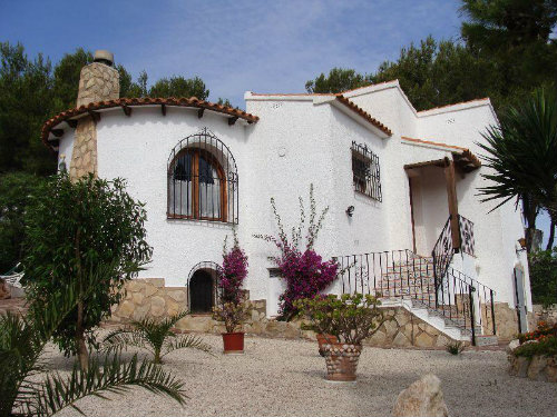 House in Javéa (cap de la nao) for   8 •   with private pool