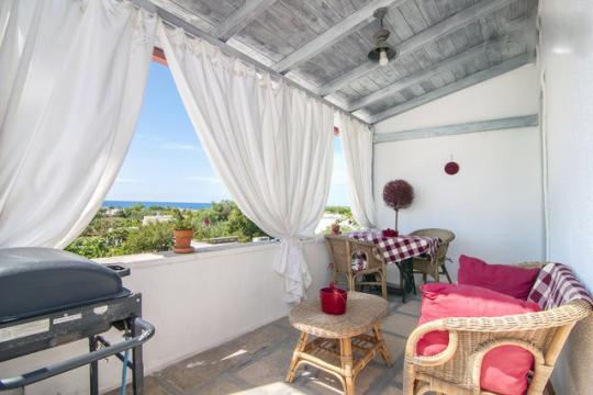 House in Capilungo for   3 •   view on sea