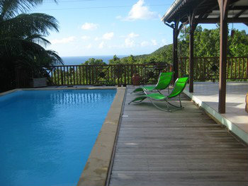 Appartement 4 personnes Deshaies - location vacances  n°55016