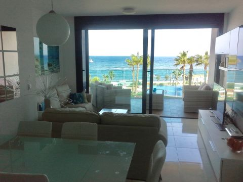 Flat in Punta prima for   4 •   private parking   #55151
