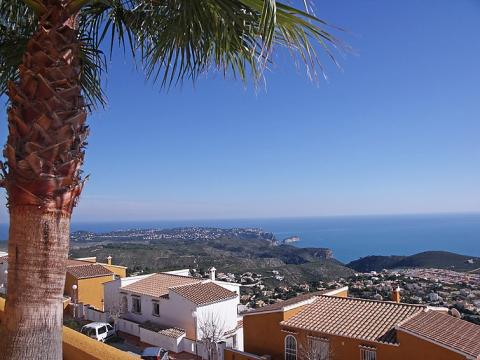 Flat in Benitachell for   6 •   view on sea