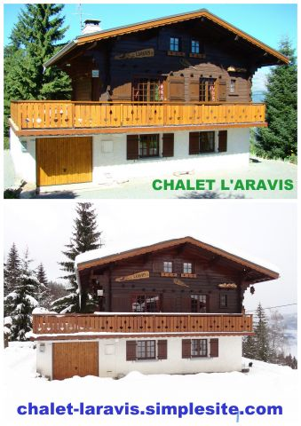 Chalet in Saint gervais les bains - Vacation, holiday rental ad # 55654 Picture #0