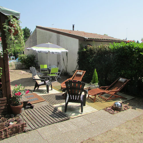 Mobil-home Soustons - 5 personnes - location vacances  n°55716