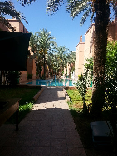 Marrakech -    avec piscine partagée
