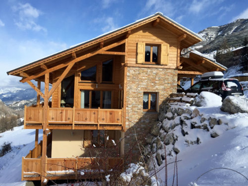 Chalet Vars - 12 people - holiday home  #55960