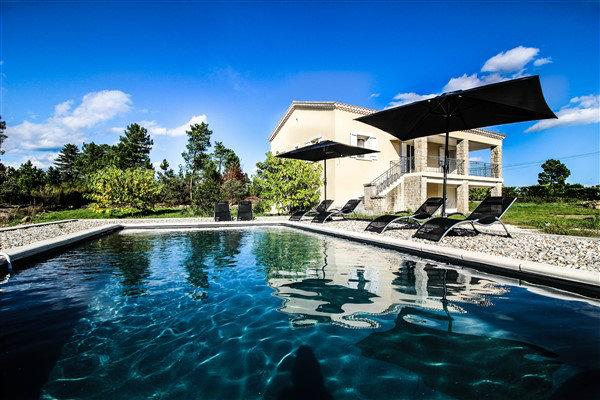 Haus in Banne für  6 •   mit privat Schwimmbad  N°55966