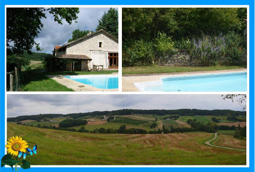 Gite in Flaugnac for   16 •   with private pool