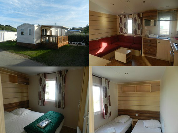 Mobile home Perros Guirec - 5 people - holiday home  #56123