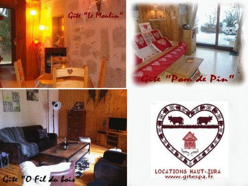 Chalet 8 personnes Longchaumois - location vacances  n°56264