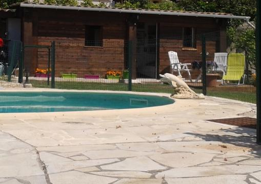 Chalet Vence - 3 people - holiday home  #56330