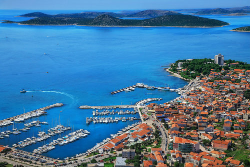 House in Vodice for   6 •   view on sea