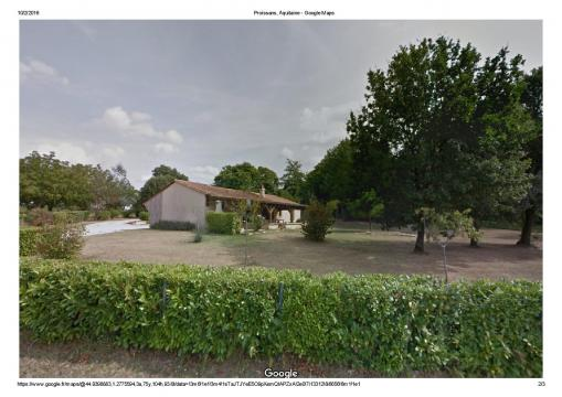 Gite in Proissans for   6 •   3 bedrooms   #56473