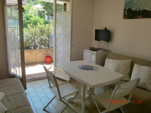 Studio St Cyr Les Lecques - 3 personnes - location vacances  n°56621