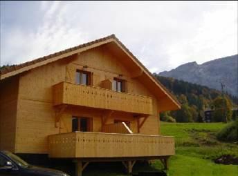 Chalet Mont-saxonnex - 6 personnes - location vacances  n°56753
