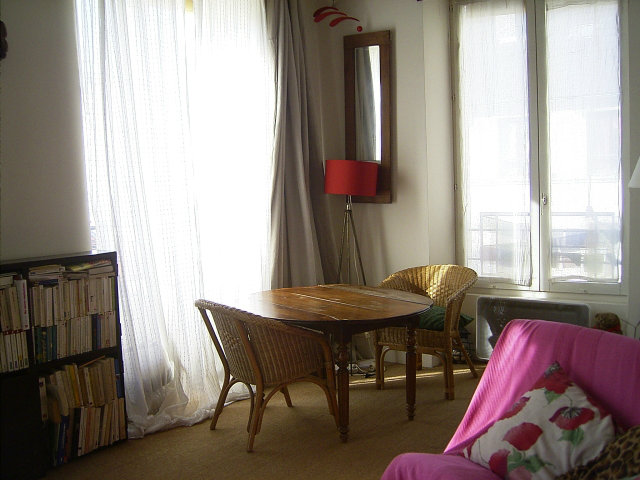 Studio in Paris 19 ième - Vacation, holiday rental ad # 56832 Picture #1