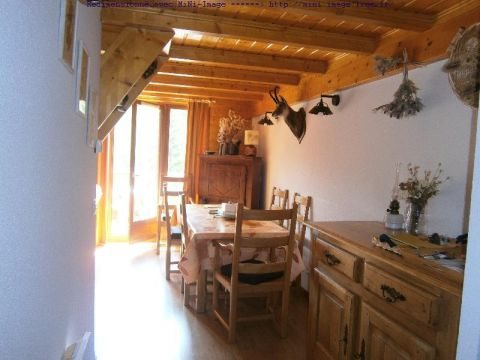 Flat in Le devoluy - Vacation, holiday rental ad # 56857 Picture #0