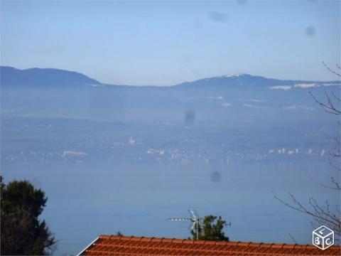 Evian les bains -    uitzicht op meer