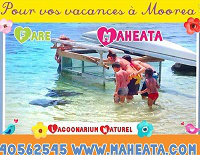 Gite à Moorea pour  3 •   vue sur mer